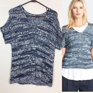 Eileen Fisher | Short Sleeve V-Neck Sweater Petite
